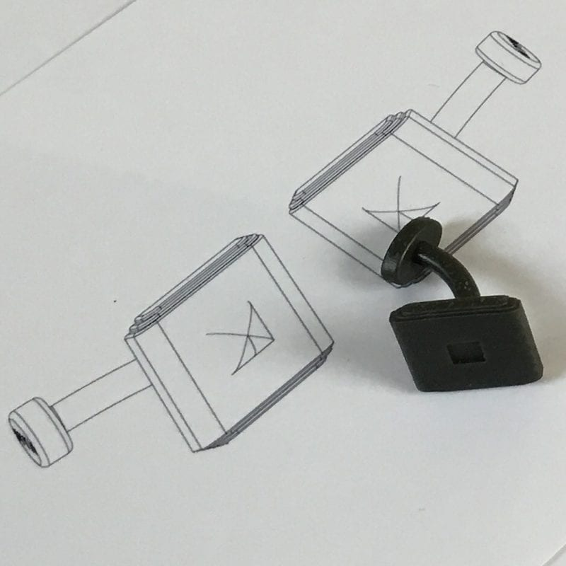 From Sketch to Prototype - Bespoke Cufflinks | David Law Jewellery