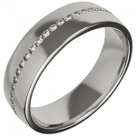 palladium diamond wedding ring | David Law Jewellery