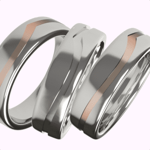 Gents unique wedding rings