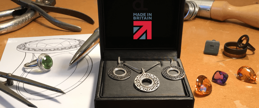 Jewellery designed and made in britain