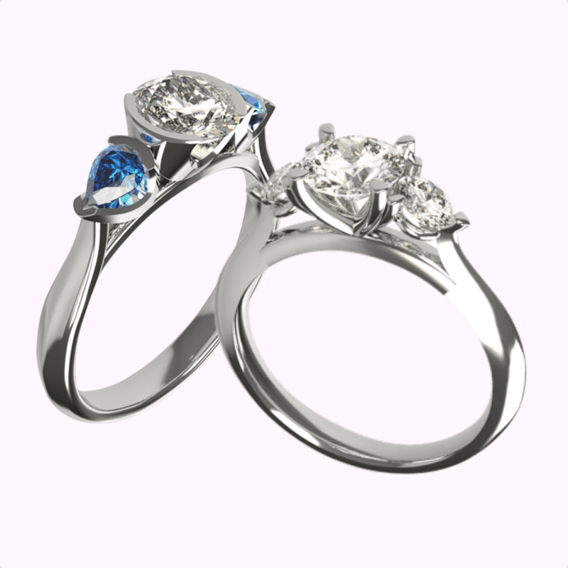 Hatton Garden Engagement Rings Designed By Craftsman David Law