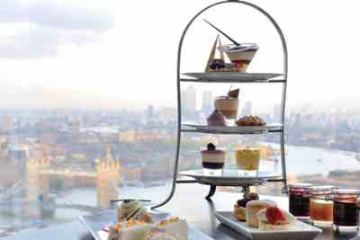 celebrate youe engagement with tea at the Shard