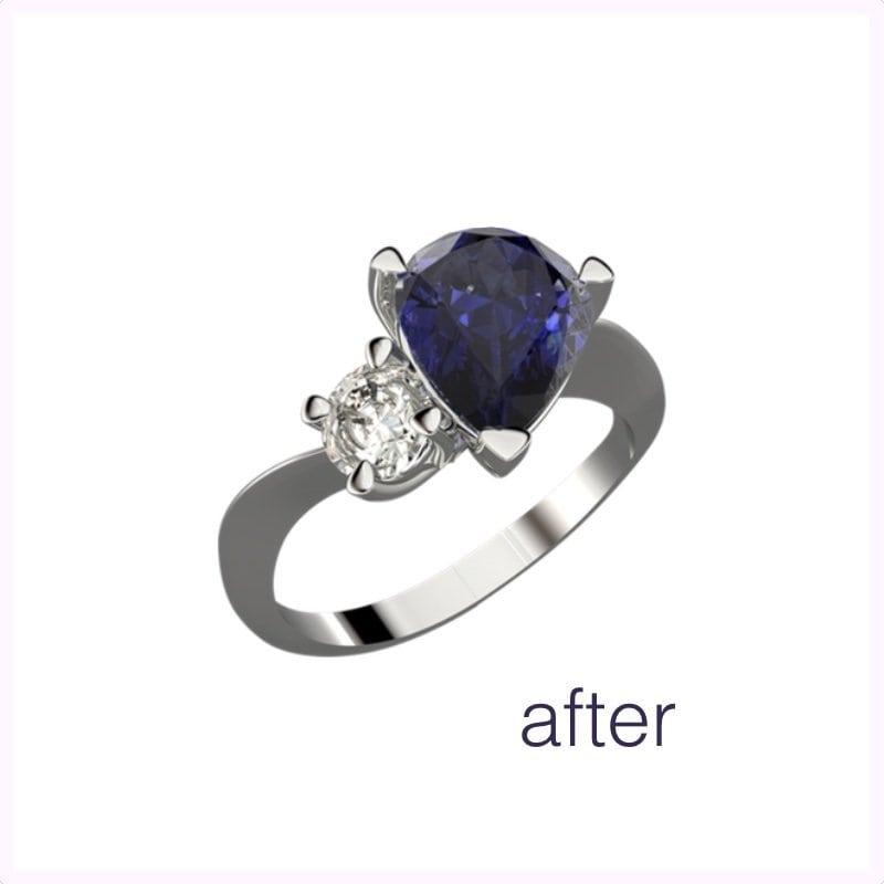 Jewellery Remodelling After Picture | David Law Jewellery