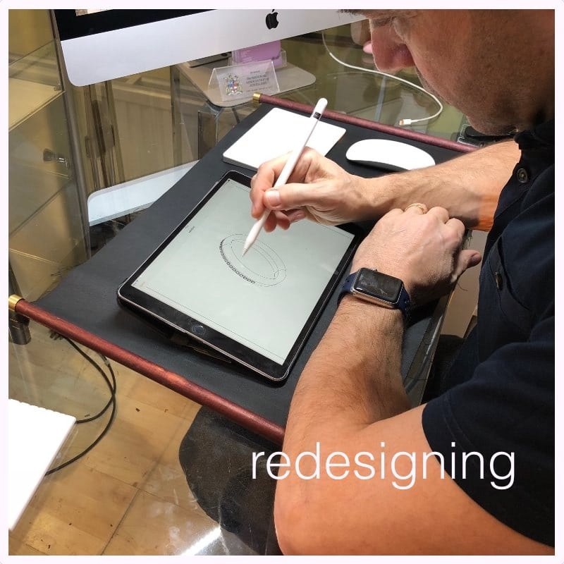 jewellery remodelling - redesigning