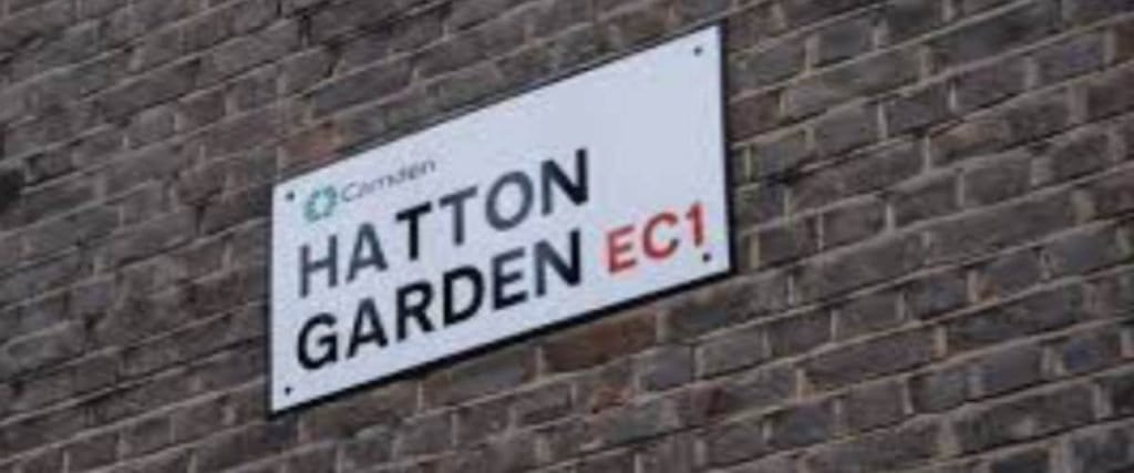 Hatton Garden the home of the diamond engagement ring
