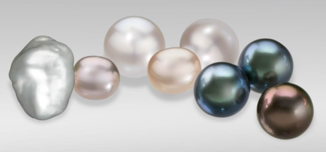 June birthstone cultured pearls