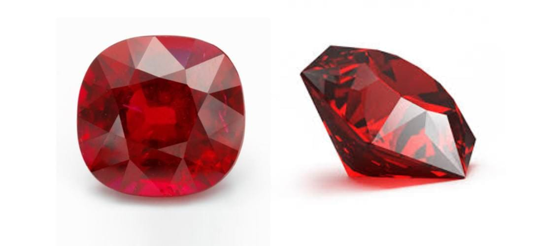 Pair of Ruby Stone | July's Birthstone | David Law Jewellery