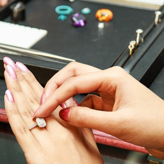 Being inspired by ring design and gemstones