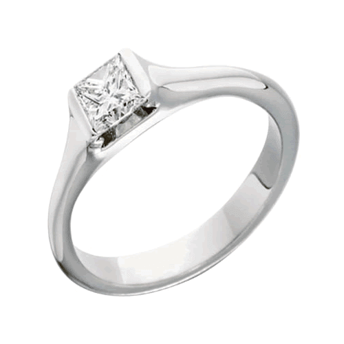 Contemporary Styled Engagement Rings
