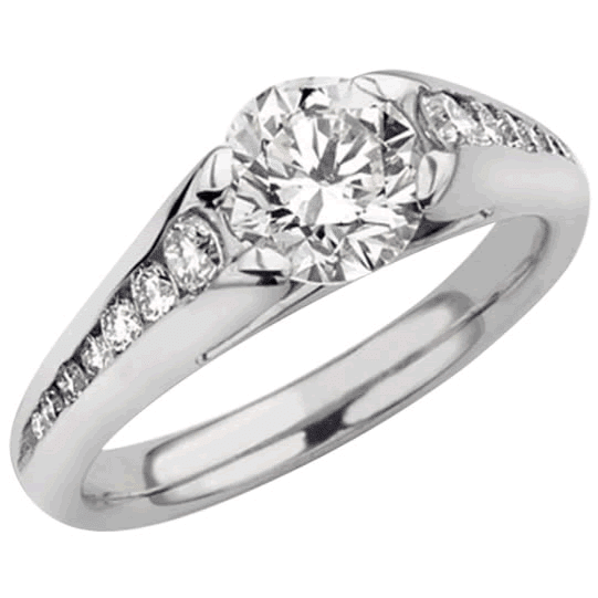 Platinum Bespoke Engagement Ring