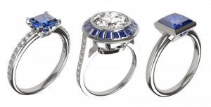 Traditional & Contemporary Bespoke Sapphire Engagement Rings