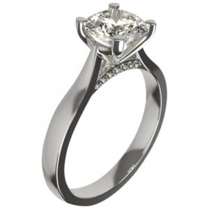 engagement rings designed diamond solitaire