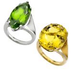 Bespoke-18ct-white-Gold-marquise-peridot-dress-ring