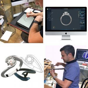 showing methods for creating bespoke jewellery