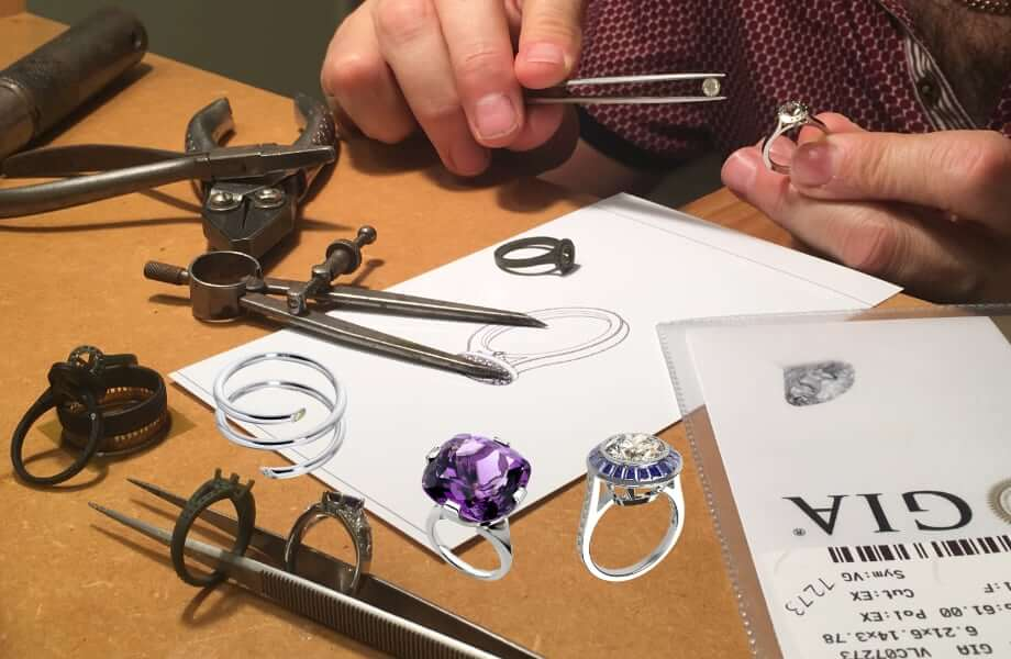 designing and making personal made jewellery