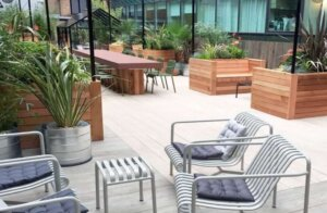the gardens at 91 wimpole street offices