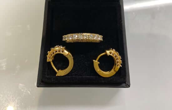 Remodelling earrings into an eternity ring