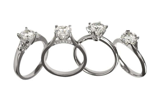 choice of engagement ring designs